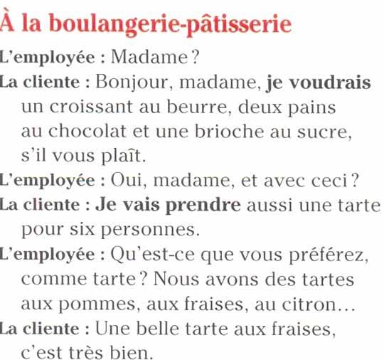 диалог знакомство на французском