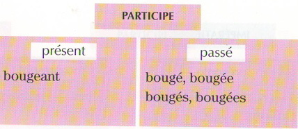 спряжение глагола bouger глагол первой группы может быть переходным и непереходным