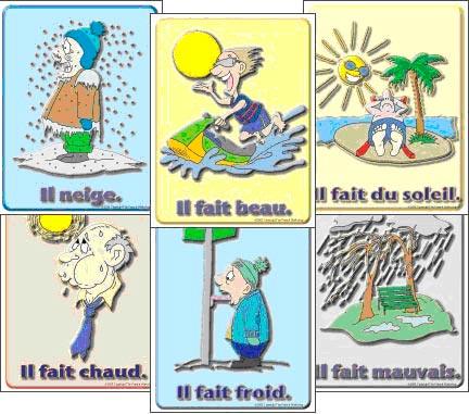 Безличные глаголы во французском языке
