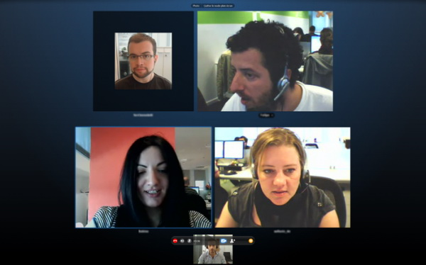 урок через Skype