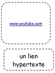 un lien hypertexte