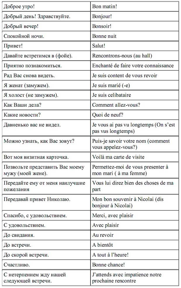 французская лексика