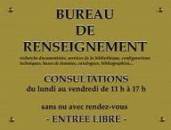 Bureaux de renseignements