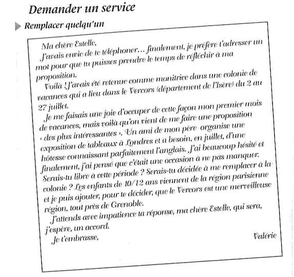 как писать письмо на французском языке образец - фото 4