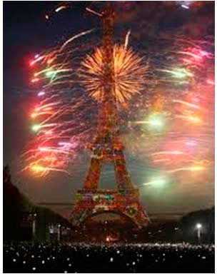 la fête nationale de la France