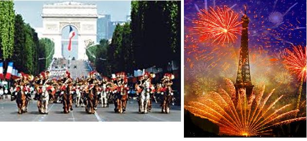 Праздники Франции с переводом