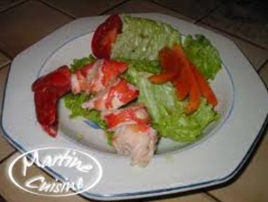 Salade De Homard Ou De Langouste